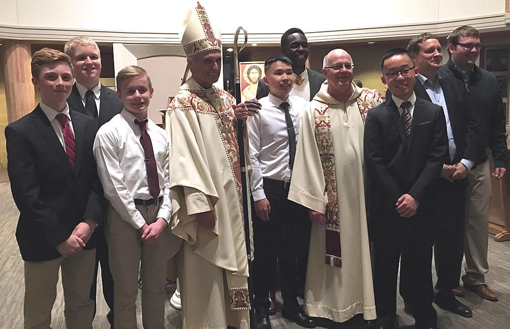 Photo of those Baptized & Confirmed